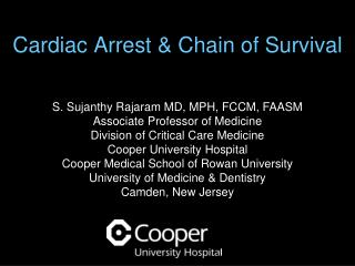 Cardiac Arrest & Chain of Survival