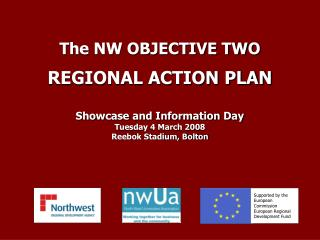 Supported by the European Commission European Regional Development Fund
