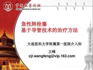 王峰 cjr.wangfeng@vip.163
