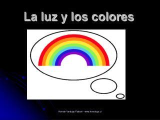 La luz y los colores