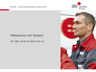 Mietservice mit System
