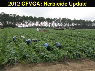 2012 GFVGA: Herbicide Update