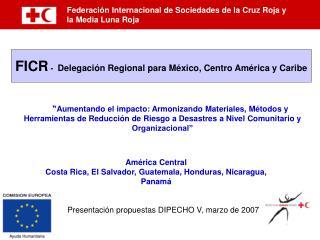 Federación Internacional de Sociedades de la Cruz Roja y  la Media Luna Roja