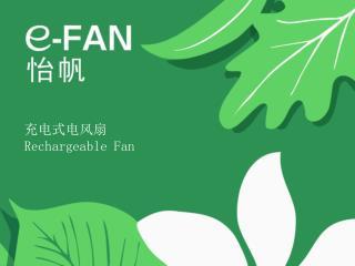 充电式电风扇   Rechargeable Fan