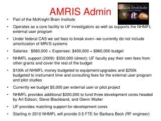AMRIS Admin