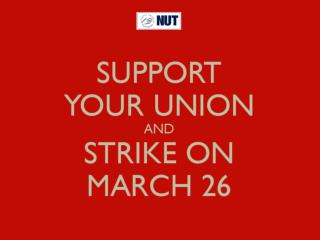 WHY STRIKE ON MARCH 26 ?!