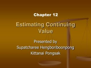 Estimating Continuing Value