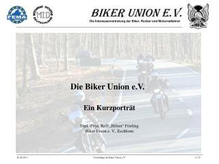Die Biker Union e.V.