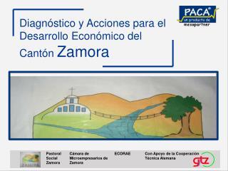 Diagn�stico y Acciones para el Desarrollo Econ�mico del  Cant�n  Zamora