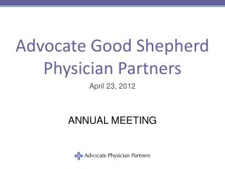 Advocate Good Shepherd  Physician Partners