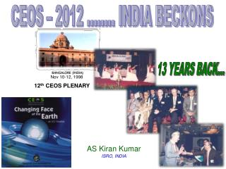 CEOS � 2012 ........ INDIA BECKONS