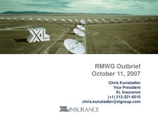 RMWG Outbrief October 11, 2007