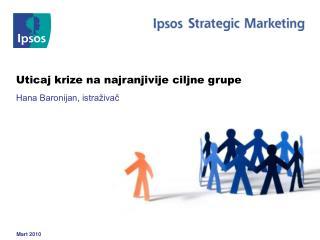 Uticaj krize na najranjivije ciljne grupe