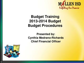 Budget Training 2013-2014 Budget Budget Procedures