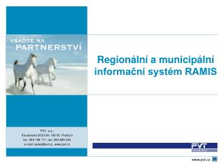 Regionální a municipální informační systém RAMIS