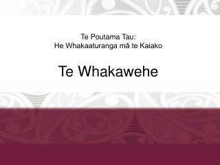 Te Poutama Tau: He Whakaaturanga mā te Kaiako Te Whakawehe