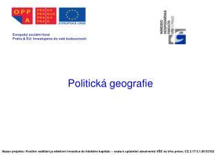 Politick� geografie