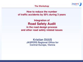 Kristian DUUS JASPERS Regional Office for  Central Europe, Vienna