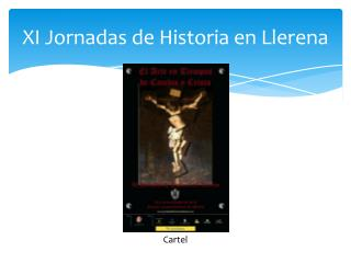 XI Jornadas de Historia en Llerena