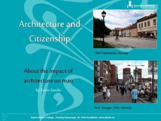 Architecture and Citizenship