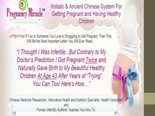 Reviewing Lisa Olson's Pregnancy Miracle Guide