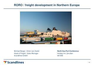 Michael Berger / Anton van Zeelst North Sea Port Conference
