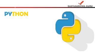 Python Online From EasyLearning Guru