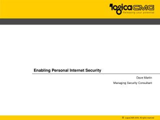 Enabling Personal Internet Security
