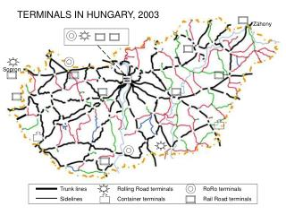 TERMINALS IN HUNGARY, 2003
