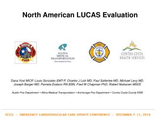 North American LUCAS Evaluation