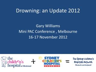Drowning: an Update 2012