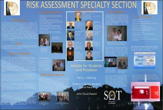 RISK ASSESSMENT SPECIALTY SECTION