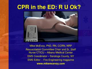 CPR in the ED: R U Ok?