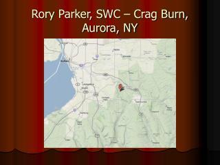 Rory Parker, SWC – Crag Burn, Aurora, NY
