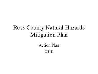 Ross County Natural Hazards Mitigation Plan