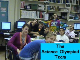 The  Science Olympiad Team