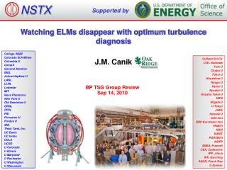 Watching ELMs disappear with optimum turbulence diagnosis