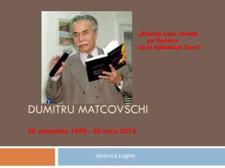 Dumitru Matcovs C hi