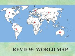 REVIEW: WORLD MAP