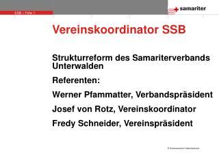 Vereinskoordinator SSB
