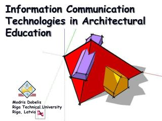 Information Communication Technologies in Architectural Education