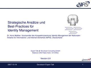 Strategische Ansätze und  Best-Practices für Identity Management