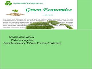 Green Economy :