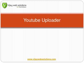 Youtube Uploader