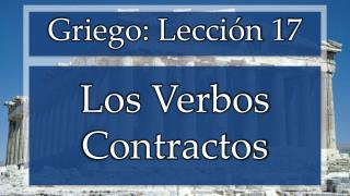 Los Verbos Contractos