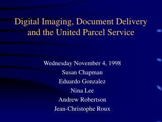 Digital Imaging