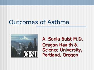 Outcomes of Asthma