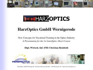 HarzOptics GmbH Wernigerode