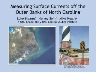 Measuring Surface Currents off the Outer Banks of North Carolina