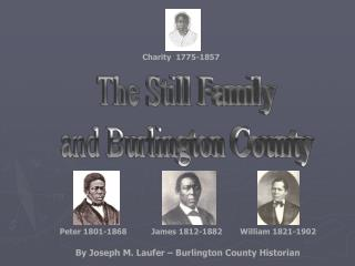 The Still Family and Burlington County